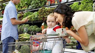 Supermarché: attention aux accidents de caddie chez l'enfant