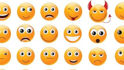 Pour le cerveau, le smiley est un visage