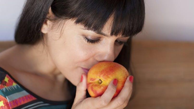 Quand l'odeur du fruit apaise la gourmandise