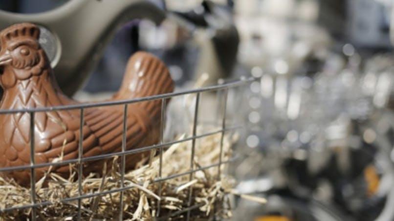 Chasse aux œufs de Pâques dans les grandes villes