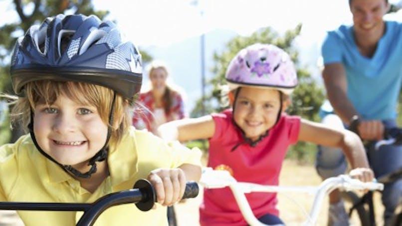 Balade à vélo en famille et en sécurité