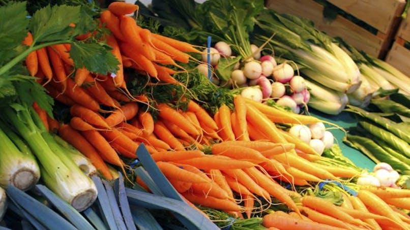 Les produits bios contiennent 60% d'antioxydants en plus
