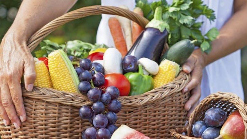 Les fruits et légumes améliorent le moral