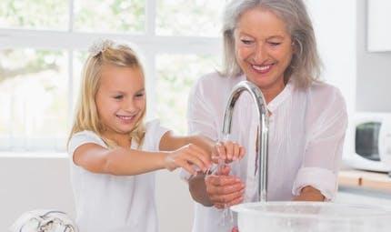 Apprenez à votre enfant à se laver correctement