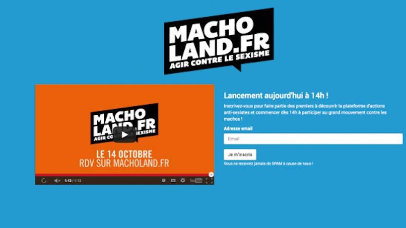 Macholand.fr, le nouveau site qui dénonce le sexisme