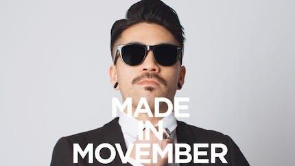 Movember: sensibiliser aux cancers masculins avec une moustache