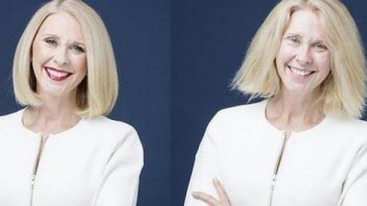 Une présentatrice TV australienne abandonne le maquillage
