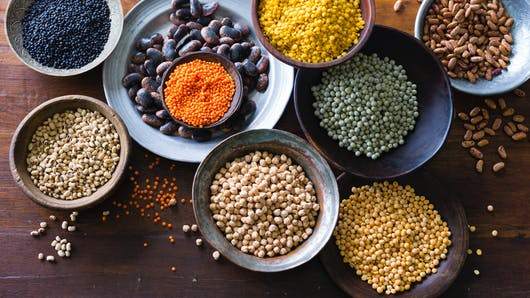 Haricots, lentilles, fèves, pois et soja: les bienfaits des légumineuses