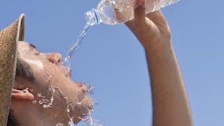 Canicule: attention au risque de déshydratation