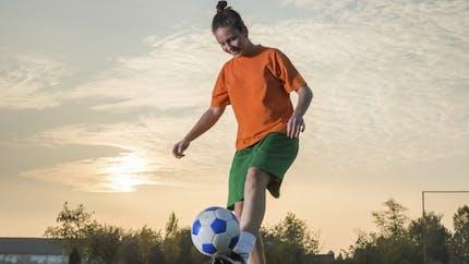 Le foot est aussi un sport féminin