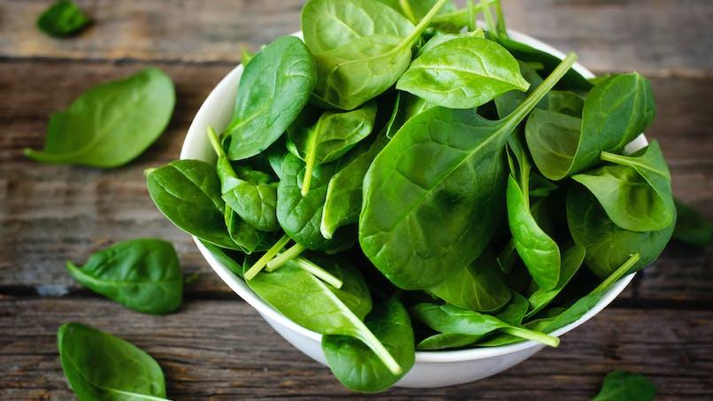 Les épinards, de vrais alliés antioxydants