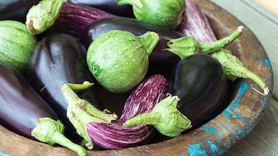 L'aubergine, à la fois peu calorique, détox et anti-âge