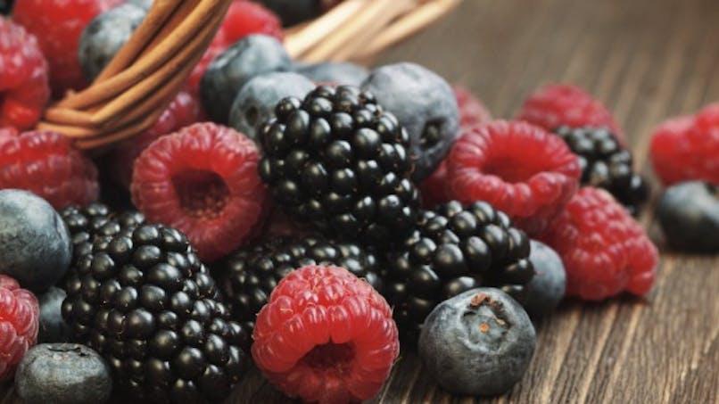Mes recettes anti-âge à base de fruits rouges