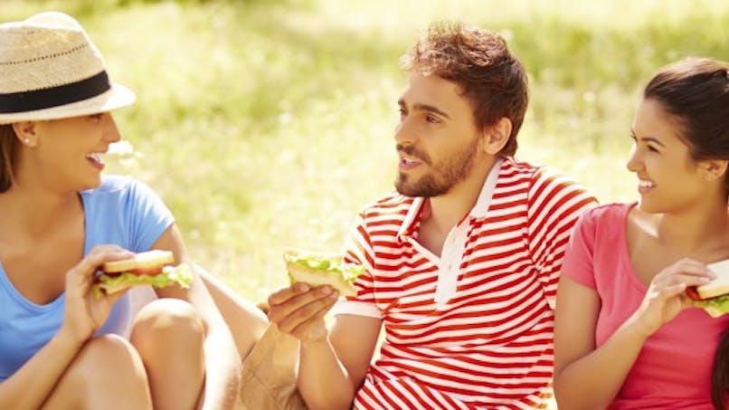 Avez-vous déjà goûté un sandwich aux fruits?