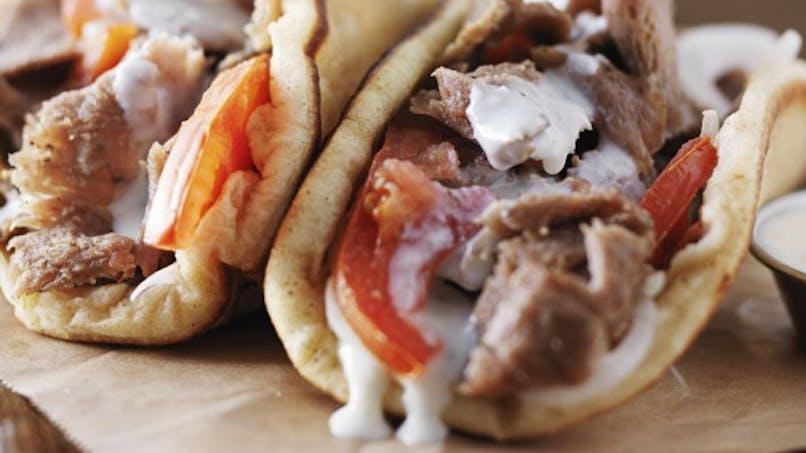 Mon kebab sans gluten
