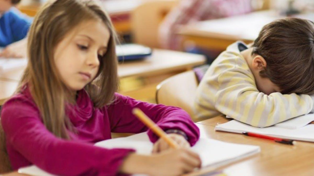 Santé: commencer les cours trop tôt est mauvais pour les élèves