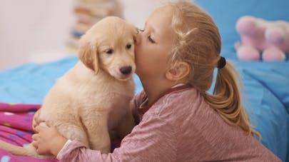 Enfants: un animal de compagnie réduit les risques d'asthme
