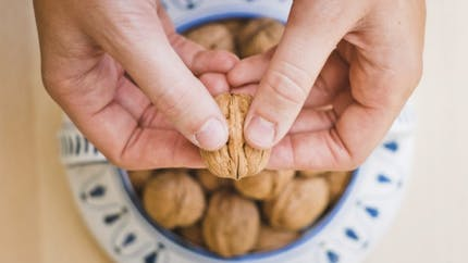 Santé: manger des noix pour améliorer notre alimentation