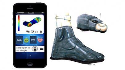Neuropathie diabétique: des chaussettes intelligentes pour mieux gérer les symptômes