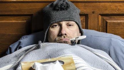 Grippe: une épidémie moins forte que l'an dernier