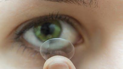 Lentilles de contact: elles transforment les bactéries de l'œil