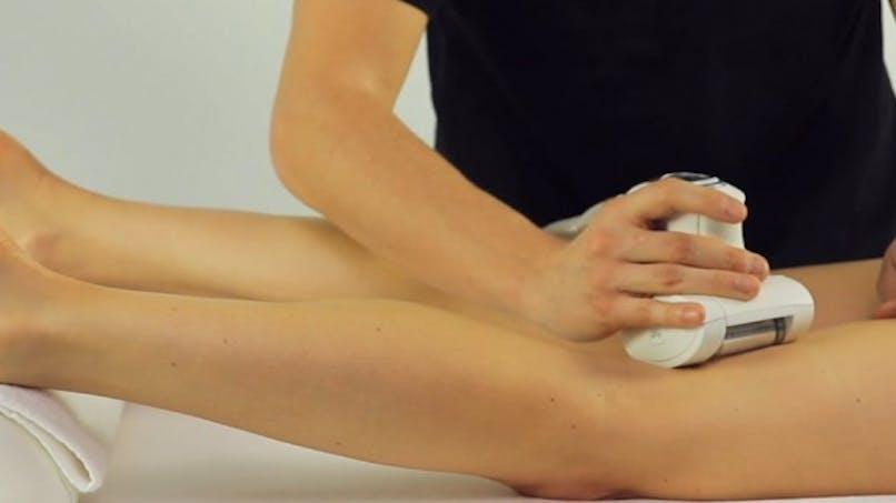 Contre les jambes lourdes: l'endermothérapie
