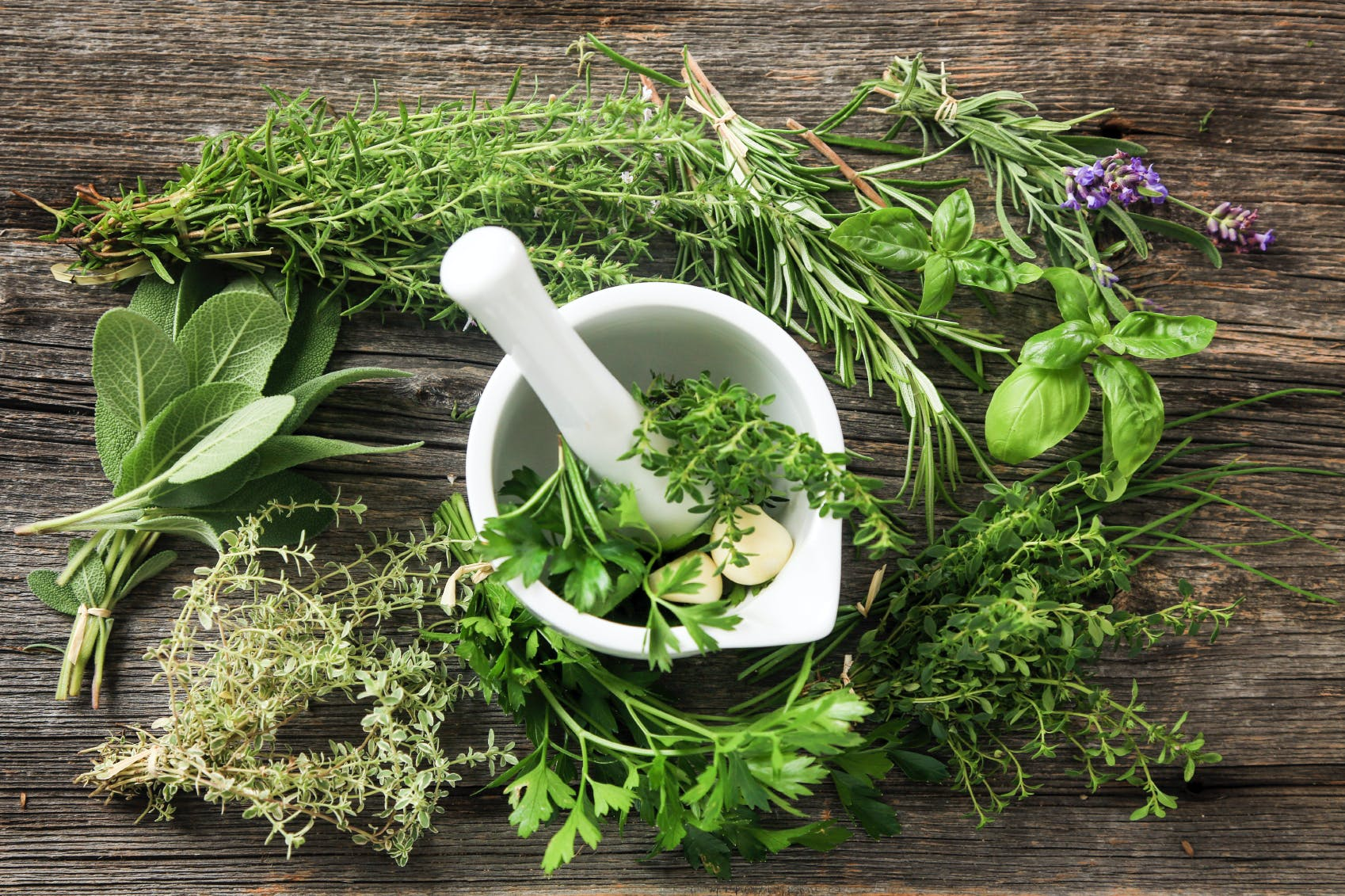 Aromatic plants, detox foods that help digestion ...