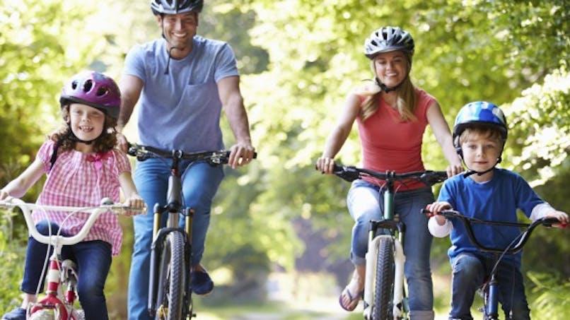 Le vélo, c'est bon pour la santé!