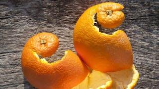 Comment réutiliser les pelures d'oranges?