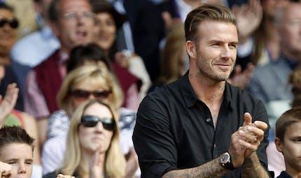 Quand David Beckham fait des pompes pour une bonne cause