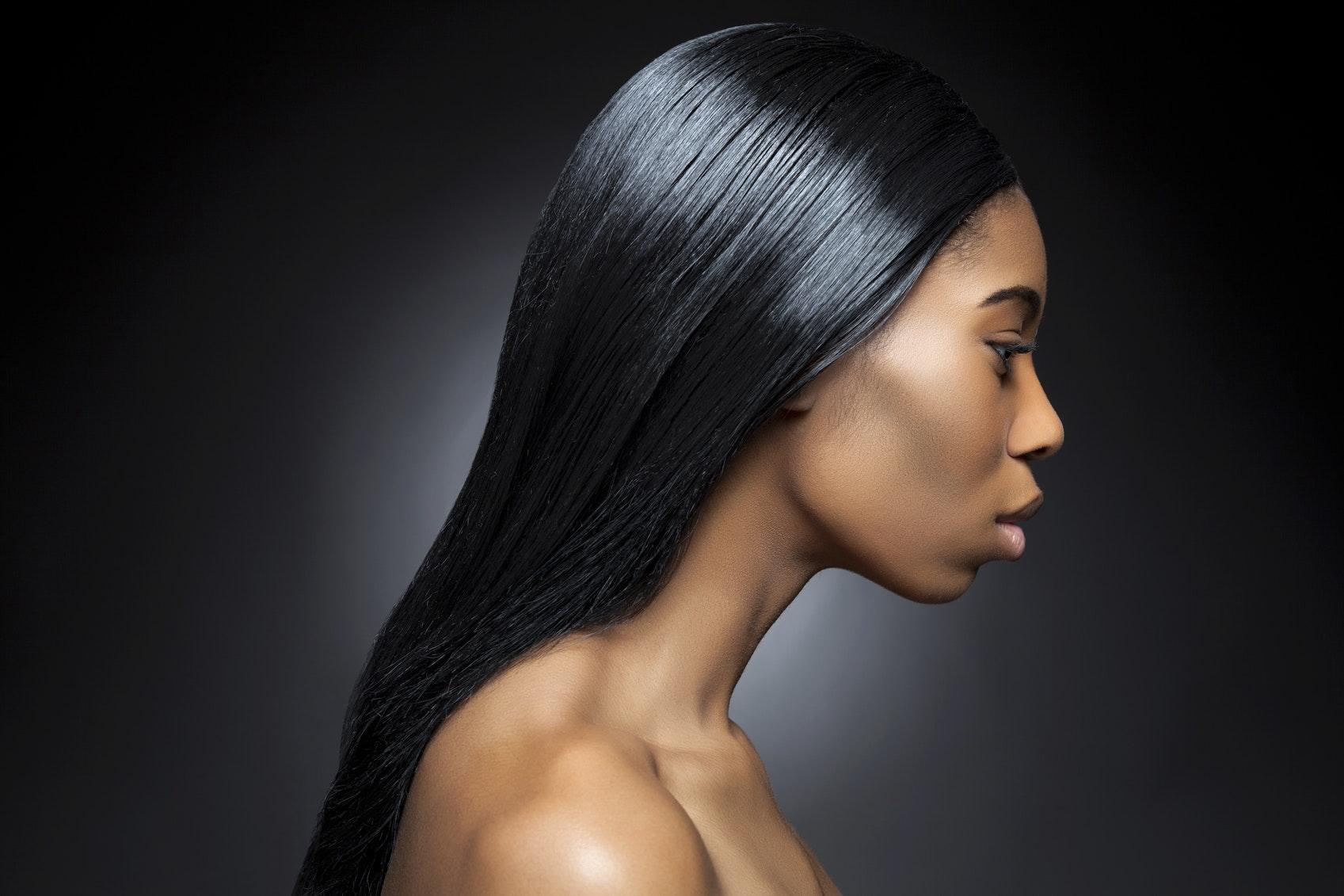 Keratine sur cheveux fins