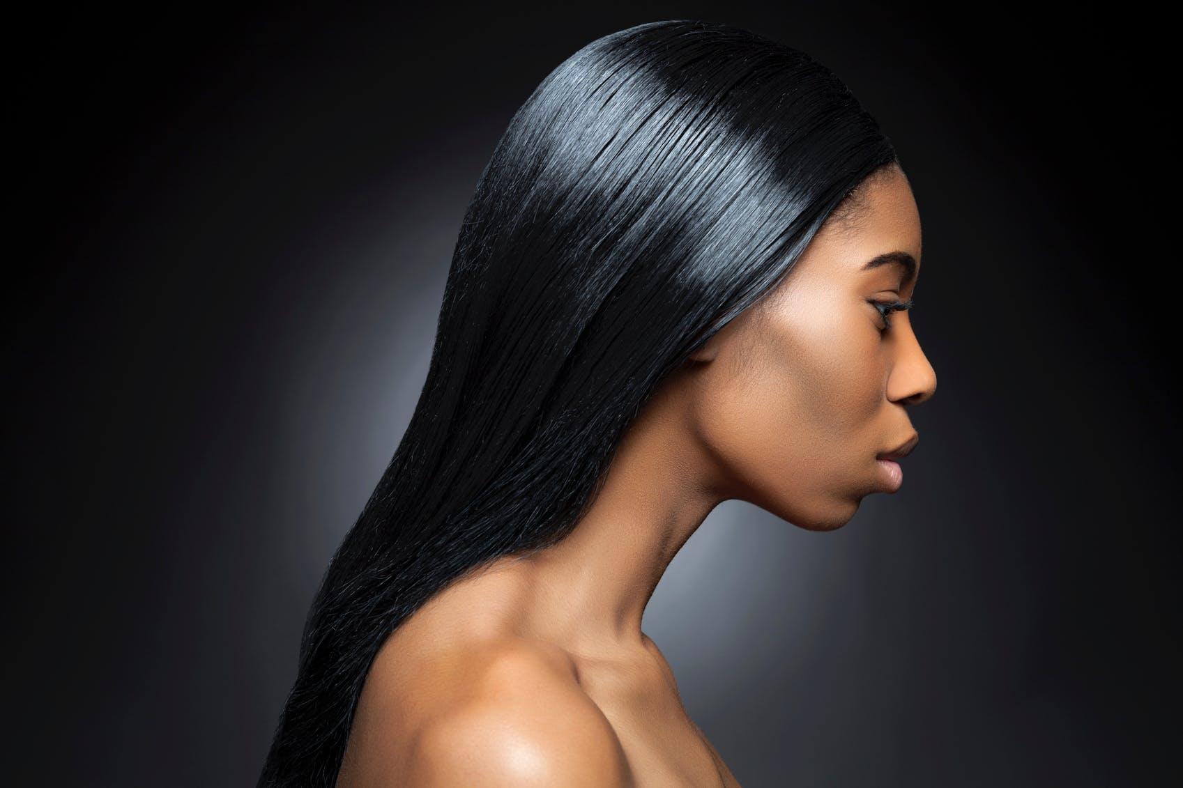 Coupe de cheveux mi long cheveux souples