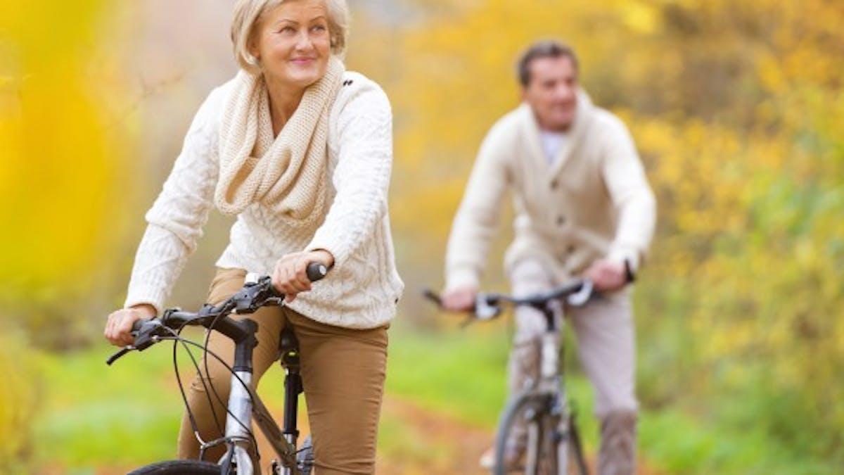 Pédaler limite le risque de maladies coronariennes