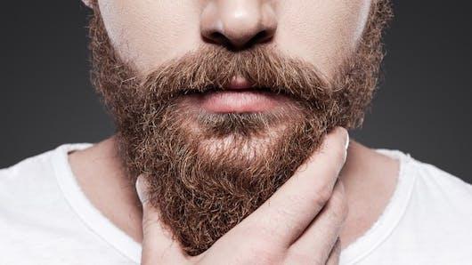 Des bactéries intestinales retrouvées dans la barbe!