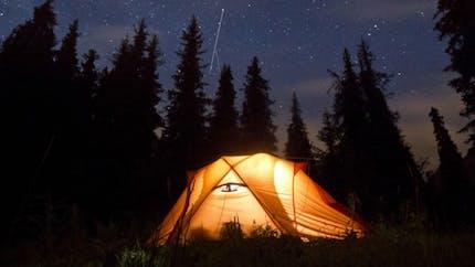 Pour mieux dormir, partez faire du camping!