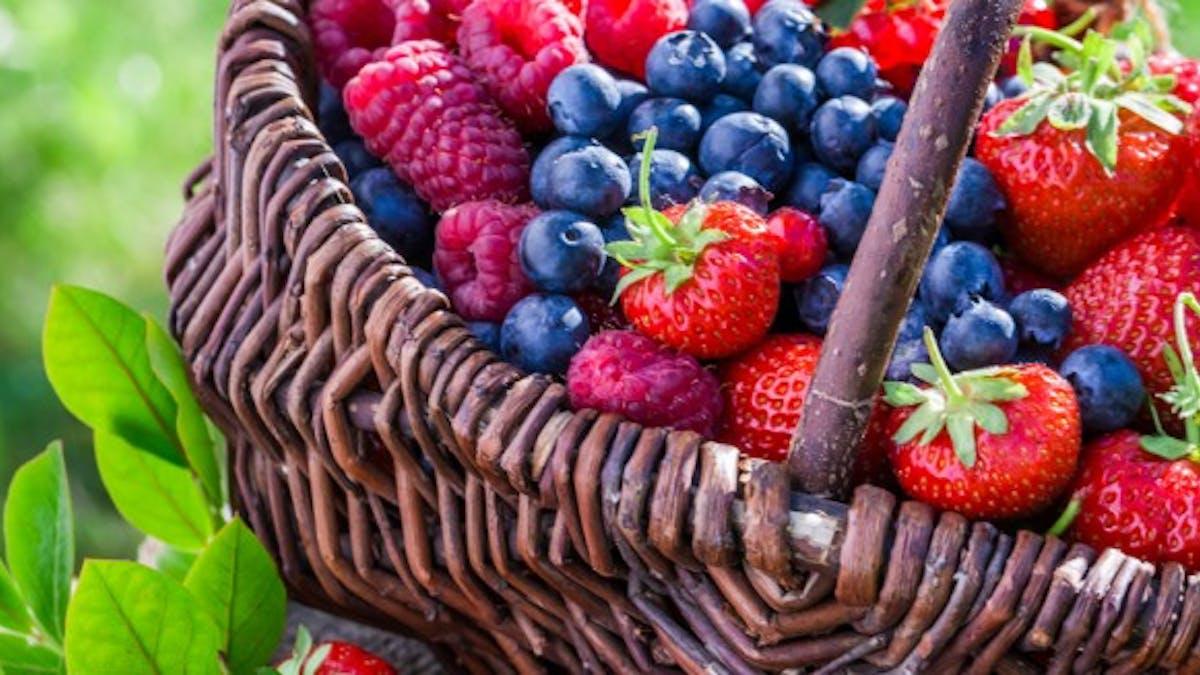Les 5 fruits light de l'été