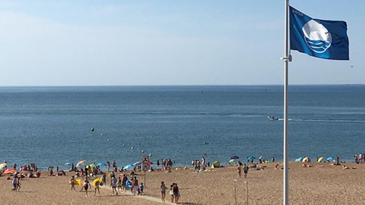 Les plages pavillon bleu de l'été 2017