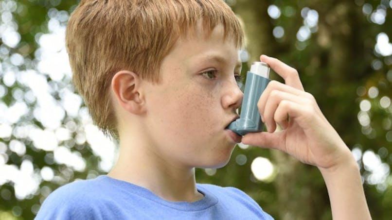 Dans l'enfance, l'asthme allergique touche plus les garçons