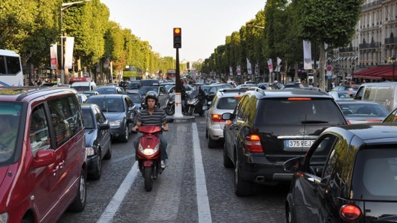 Pollution de l'air: légère amélioration en Ile-de-France