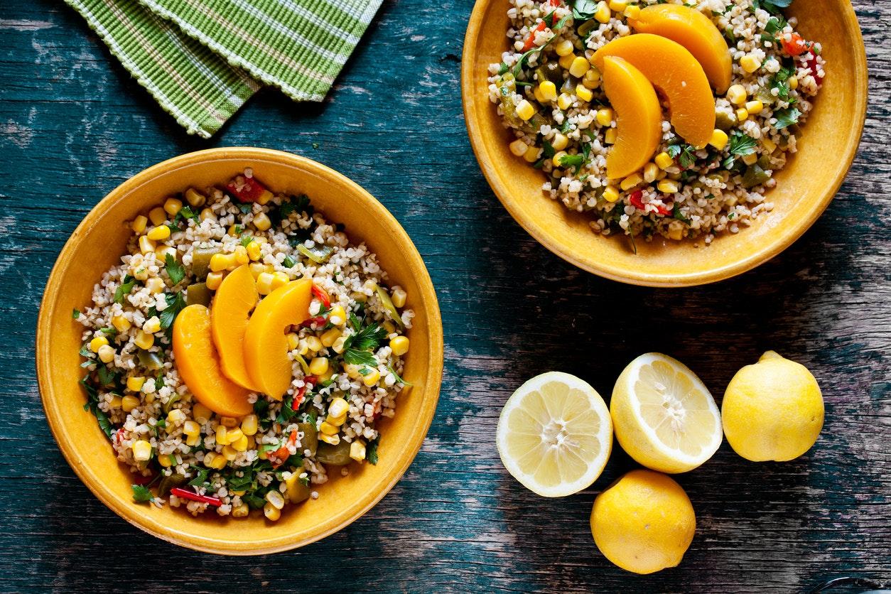 repas végétariens pour perdre du poids rapidement