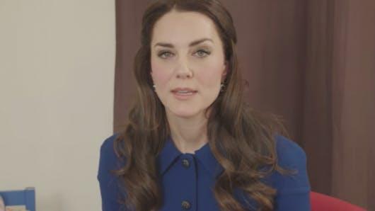 Kate Middleton parle de santé mentale face à la caméra