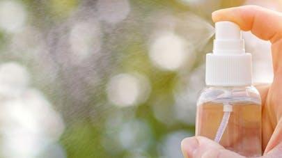 Sprays assainissants, épurateurs d'air:  pas efficaces et potentiellement dangereux