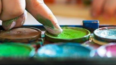 Peintures pour enfants: les substances toxiques à éviter