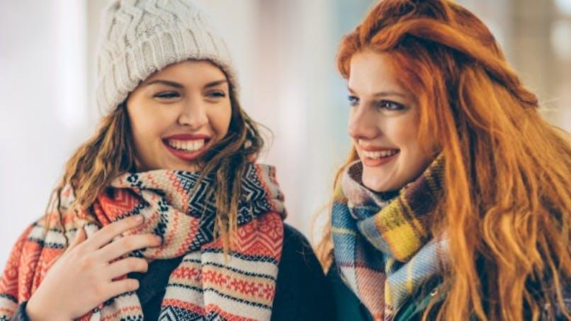 Contre l'asthme, l'écharpe est indispensable en hiver