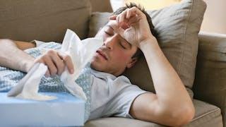 Pourquoi les hommes se plaignent-ils autant lorsqu'ils ont la grippe?