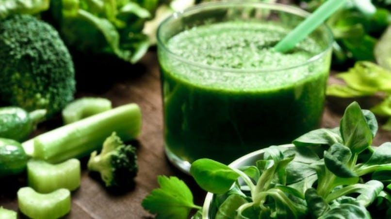 Des légumes verts pour retarder le déclin cérébral