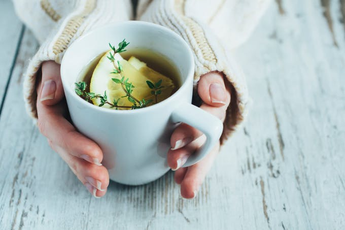 Les boissons chaudes participent à  une bonne hydratation de l'organisme en hiver