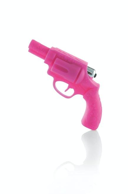 Un sex toy en forme de revolver