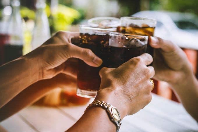 Les boissons alcoolisées contribuent à acidifier l'organisme