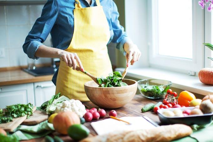 On privilégie le fait maison et les aliments basiques